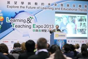 Gary speaking in Hong Kong
