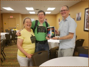 CMK Fellow Josh Burker shares his newfound treasure with authors Dan & Molly